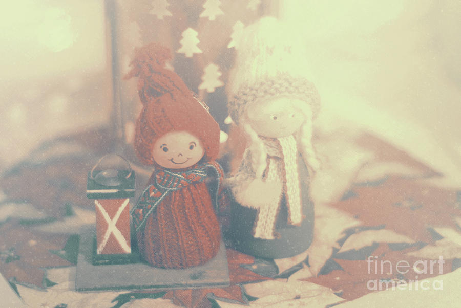 Two Little Gnomes Photograph