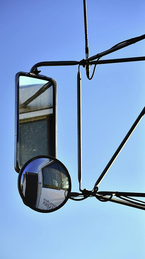 Two Mirrors Antenna Photograph