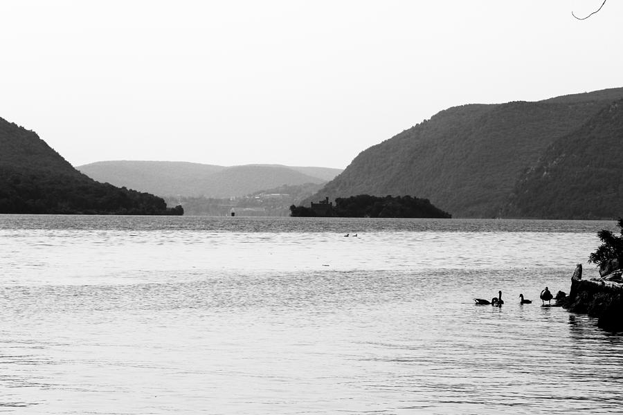 Storm King Mountain Photograph - Two Mountains And A River by Victory Designs