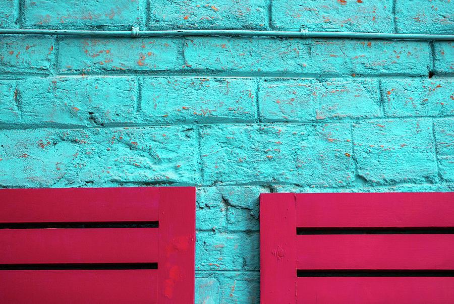 Two Pink Chairs by Prakash Ghai