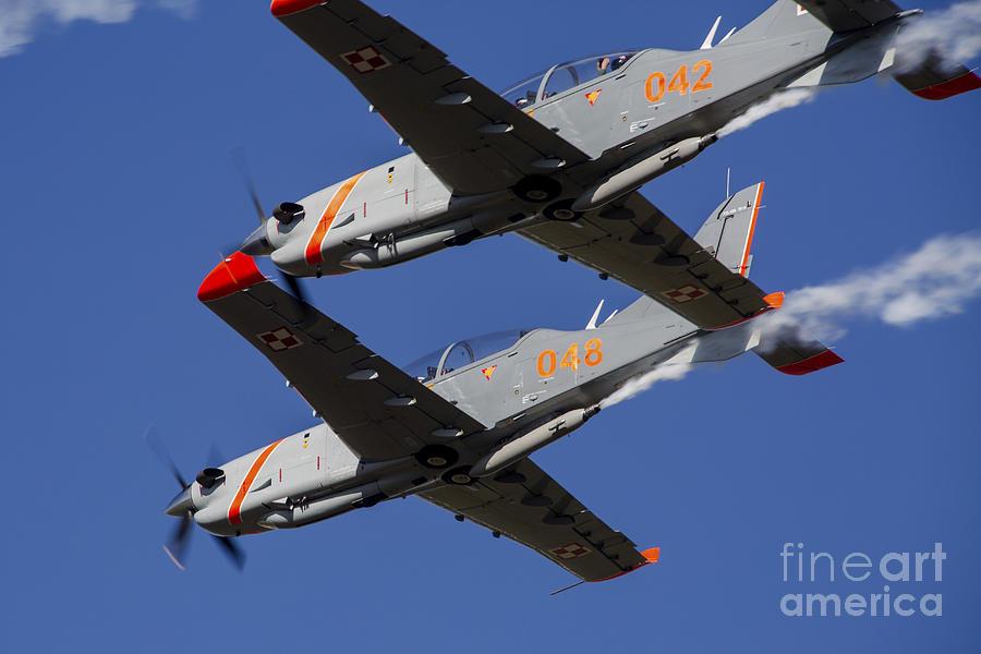 Two Pzl-130 Orlik Trainers Photograph