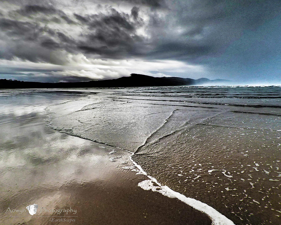 Beach Photograph - Two Skies by Stephanie McGuire