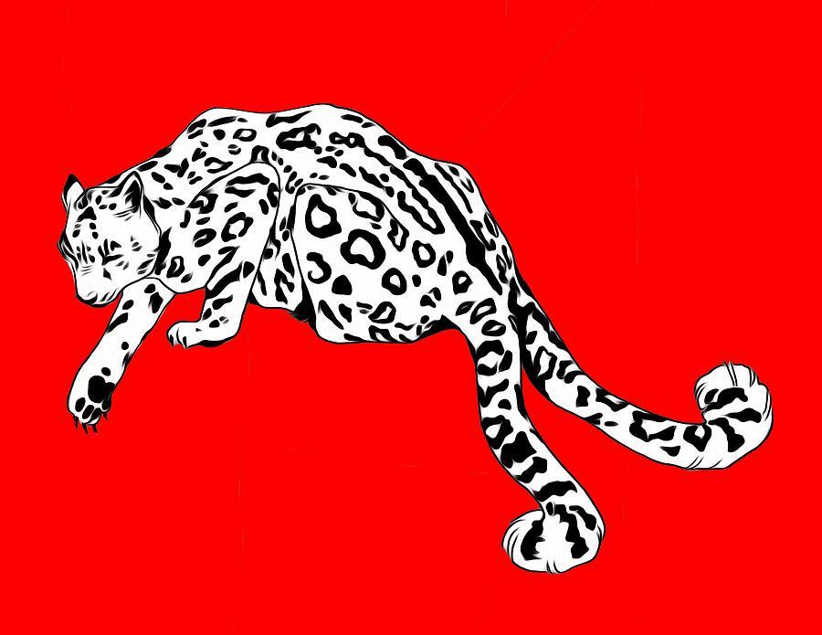 Leopard Digital Art - Two Tails by Ellan Suder