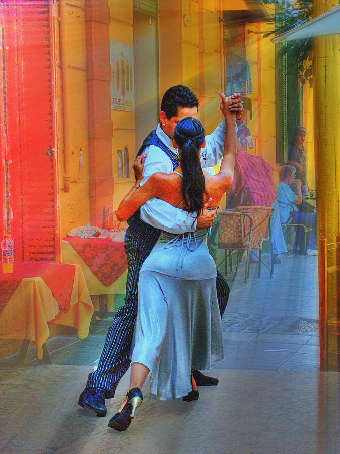 Dance Photograph - Two Tango by Francisco Colon