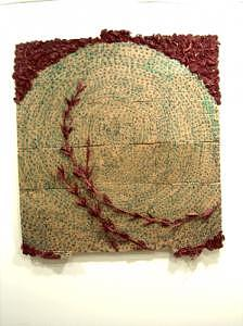 Abstract Mixed Media - Two Thousand And Seven  Number Four by Henry Klimowicz