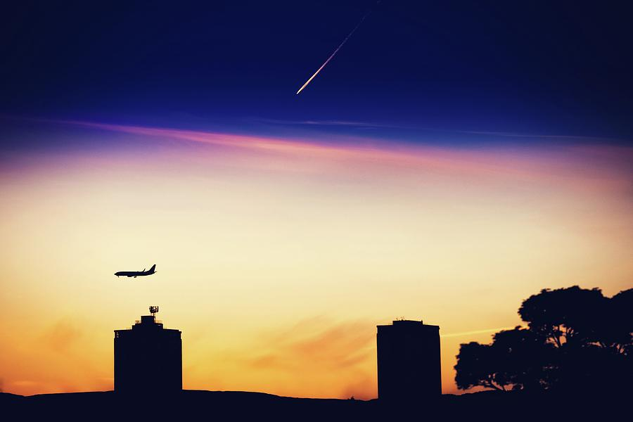 Weather Photograph - Two Worlds by Sotiris Filippou
