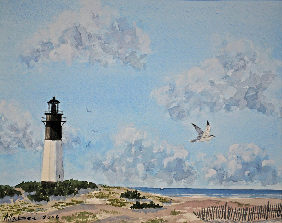 Tybee Light Savannah by Stanton Allaben