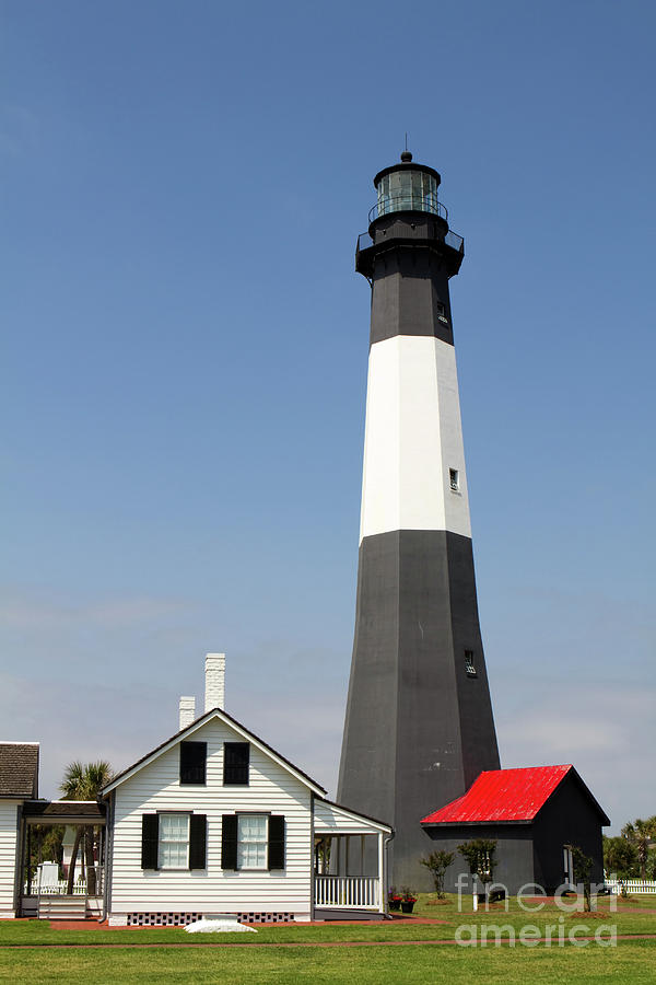 Tybee Lighthouse Georgia by Steven Frame