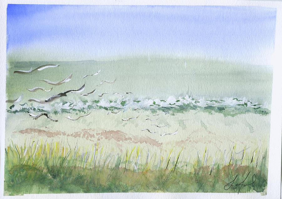 Tybee Painting - Tybee.2 by Stephen Lanford