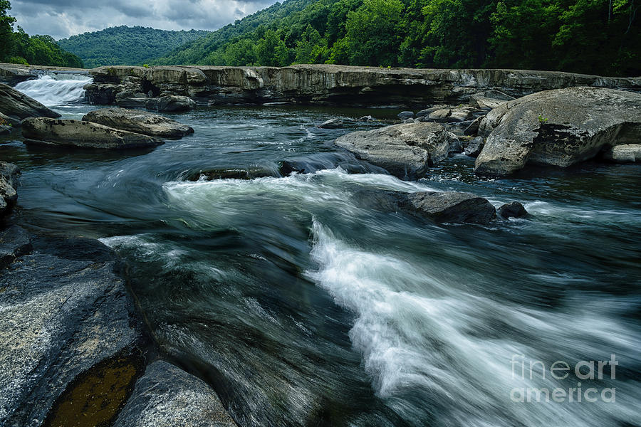 Valley Falls State Park Photograph - Tygart Valley River by Thomas R Fletcher
