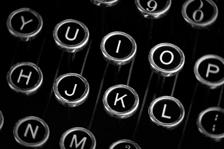 Typewriter Keyboard I Photograph By Tom Mc Nemar