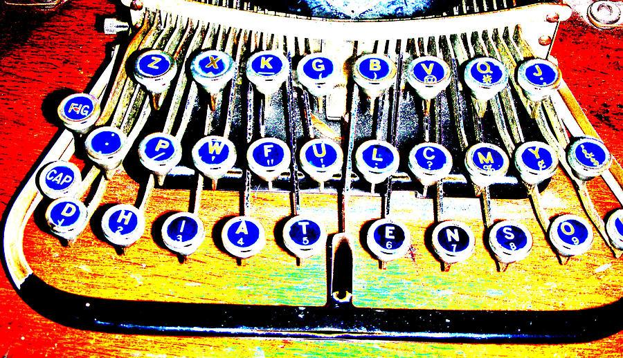 Typewriter Digital Art - Typewriter by Peter  McIntosh