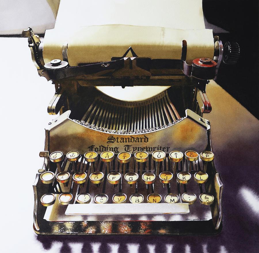 Typewritering by Denny Bond