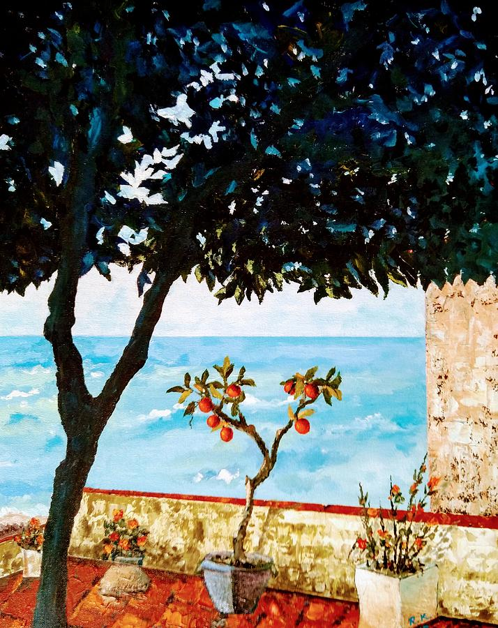 Typical Mediterranean Painting by Ray Khalife