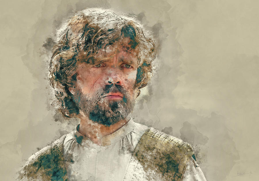 Tyrion Lannister, Game Of Thrones Painting