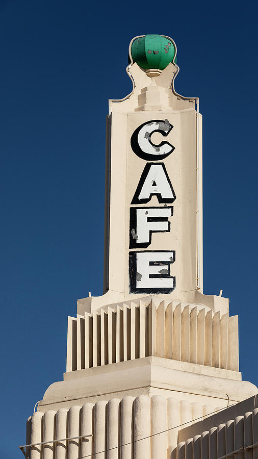 Route 66 Photograph - U Drop In Cafe #1 by Stephen Stookey