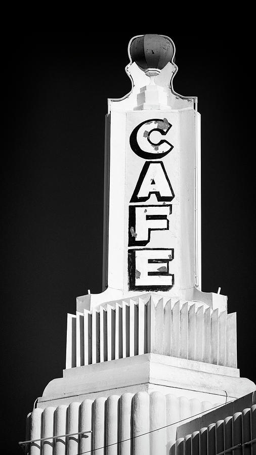 Route 66 Photograph - U Drop In Cafe #2 by Stephen Stookey
