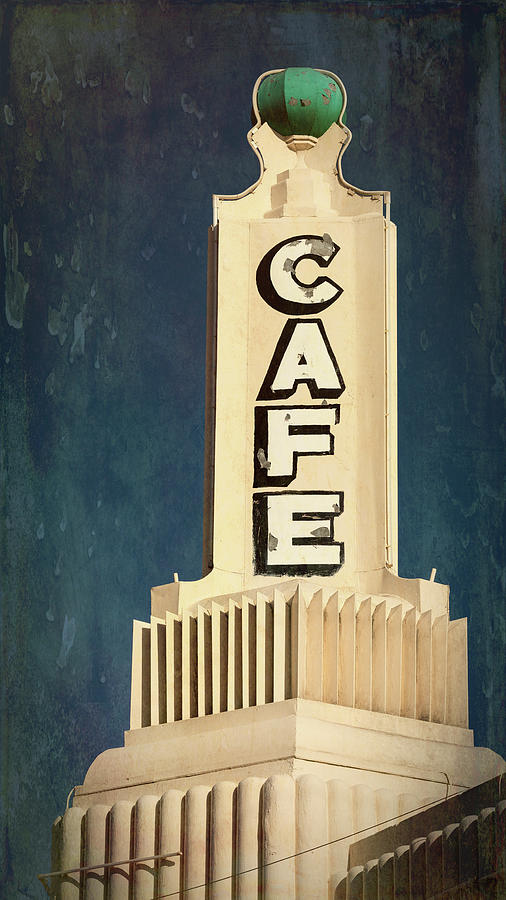 Route 66 Photograph - U Drop In Cafe #3 by Stephen Stookey