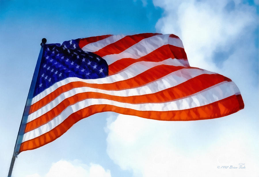 Honoring Flag Day by Brian Tada