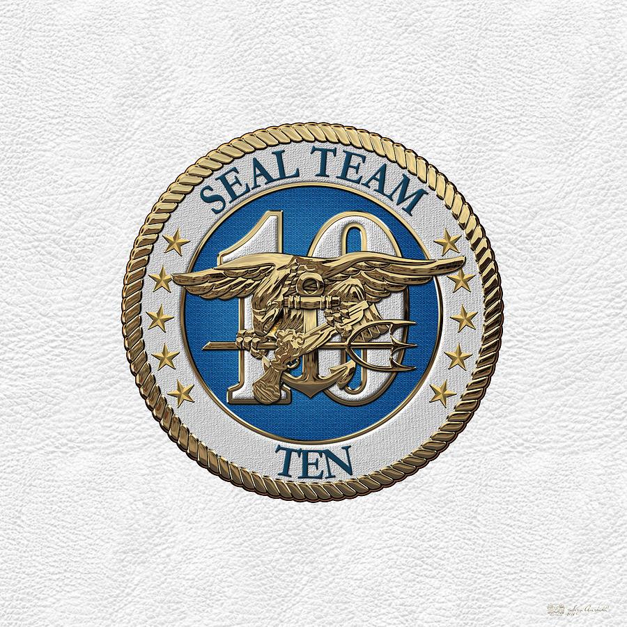 U s navy s e a ls s e a l team ten s t 10 patch over white military digital art u s navy s e a ls s e a l team ten s t 10 patch biocorpaavc Gallery