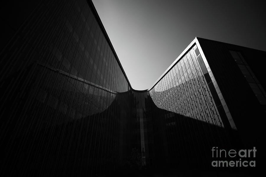 Architecture Photograph - U-turn by Tapio Koivula