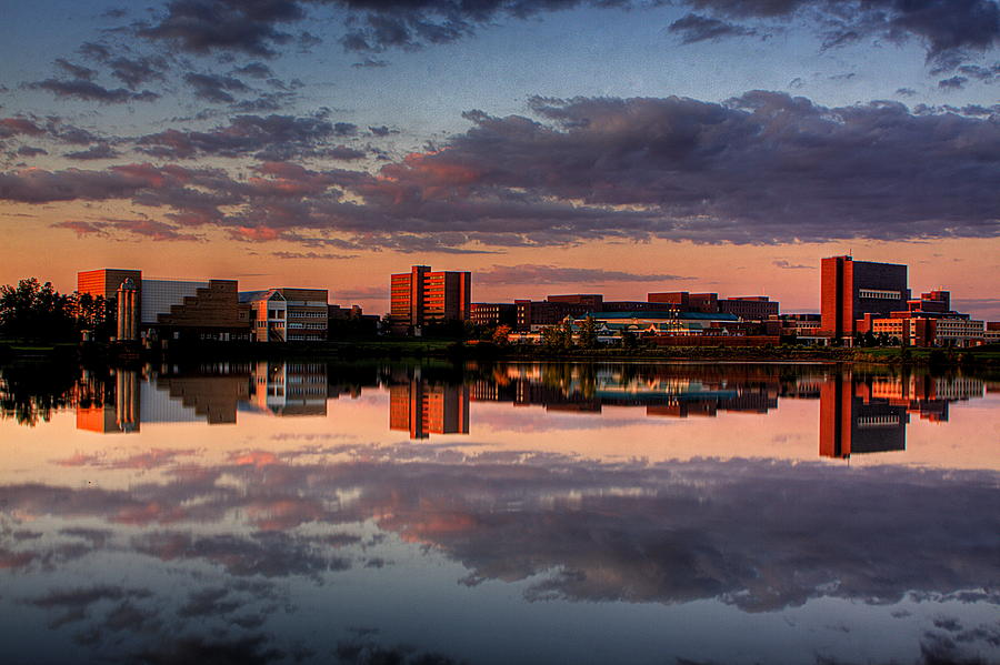 Ub Photograph - Ub Campus Across The Pond by Don Nieman