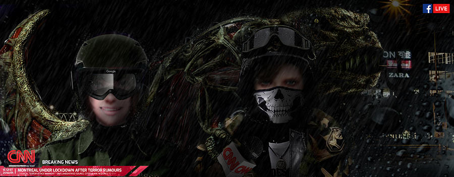 Ubcs - Dino Crisis Mixed Media by Alexander feat Katley