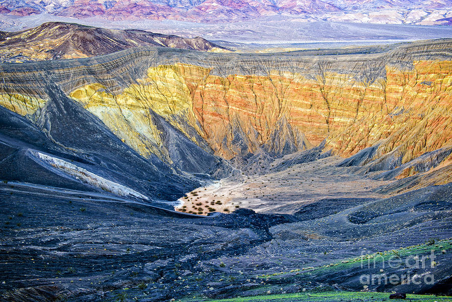 Adventure Photograph - Ubehebe Crater by Charles Dobbs
