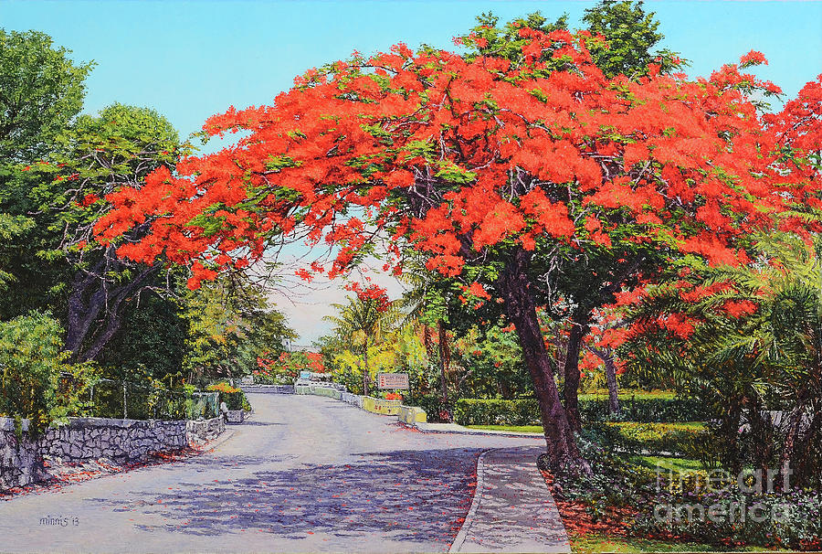 UBS Poinciana by Eddie Minnis