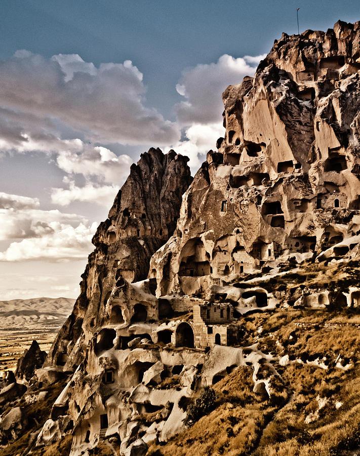 Uchisar, Turkey - The Castle by Mark Forte
