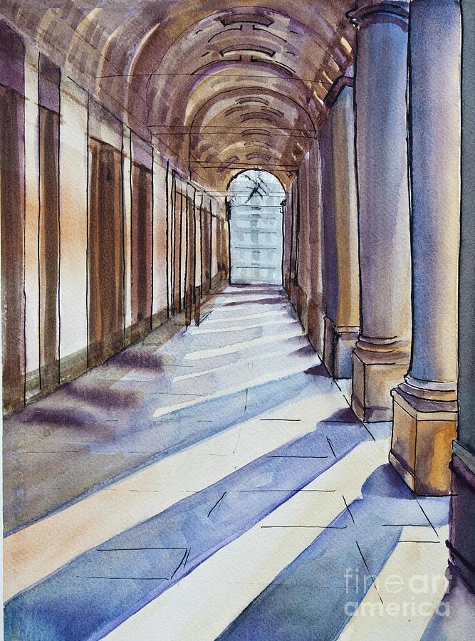 Light Painting - Uffizi Light by Dianne Green