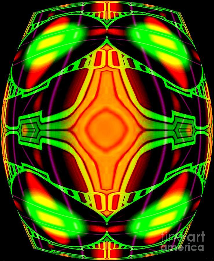 U.f.o Digital Art by Graham Roberts
