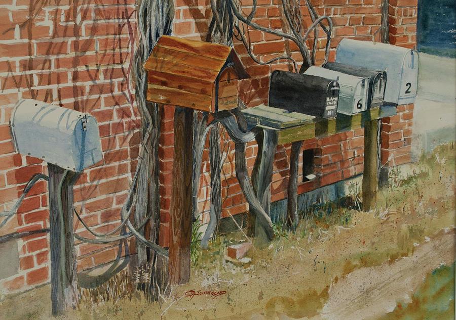 Uhland Mailboxes by E M Sutherland