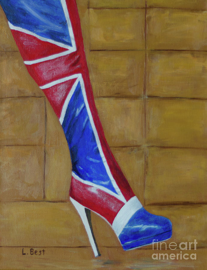 Uk Painting - Uk Kinky Boot by Laurel Best