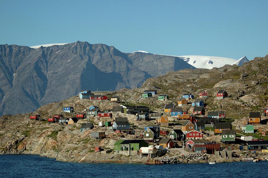 Greenland Photograph - Ukkusissat by Ian Ashbaugh
