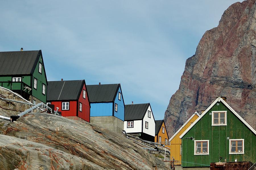 Greenland Photograph - Ukkusissat Up Close by Ian Ashbaugh