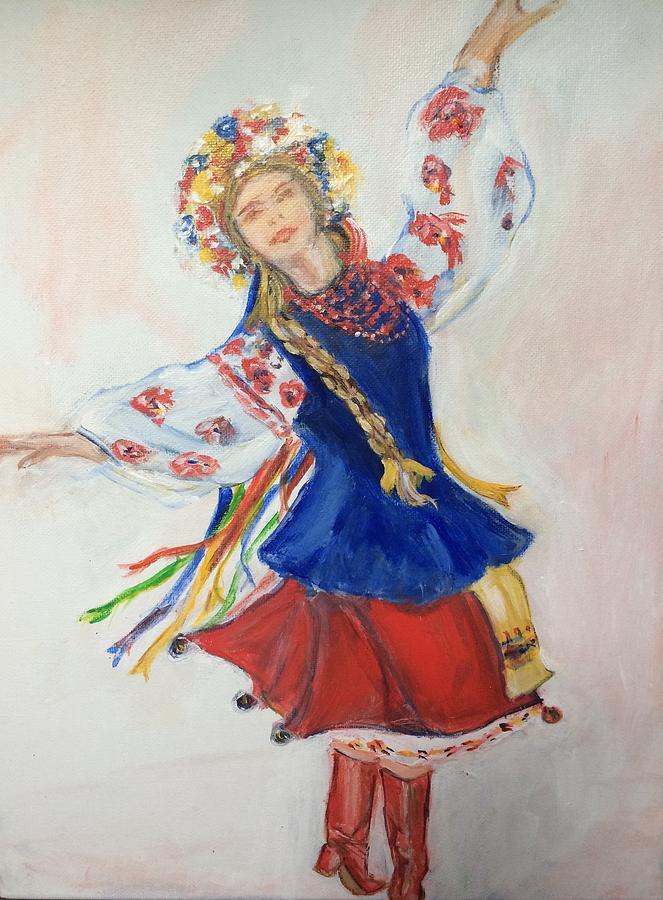 Ukrainian dancer  by Denice Palanuk Wilson