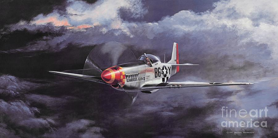 Chuck Yeager Painting - Ultimate High by Michael Swanson
