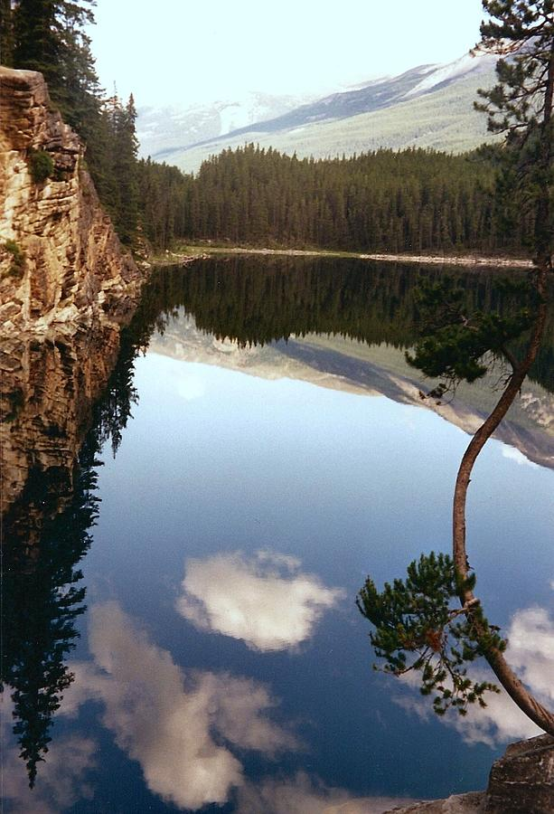 Mountains Photograph - Ultimate Reflection by Shirley Sirois