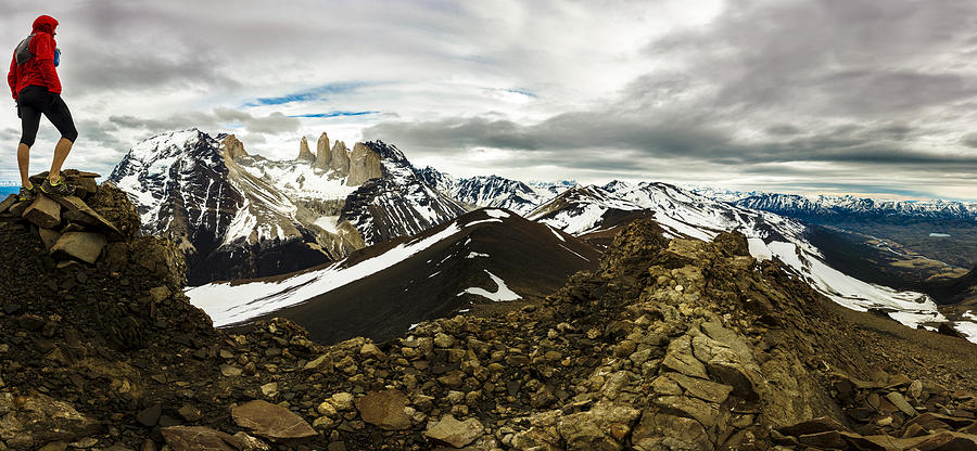 Chile Photograph - Ultra Mountain Runner by Bryan Toro