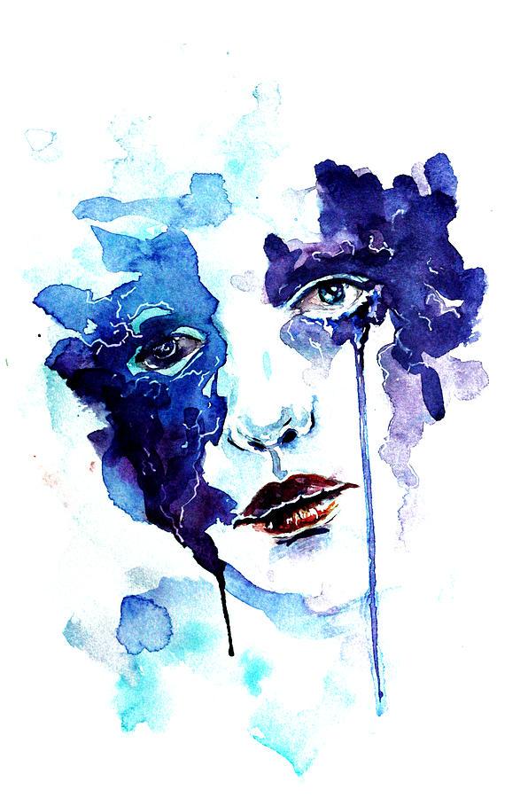 Ultraviolence Painting - Ultraviolence by Alexandra-Emily Kokova
