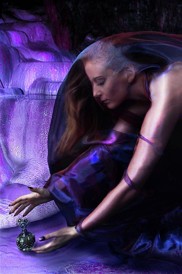 Purple Photograph - Ultraviolet by Debra Jayne