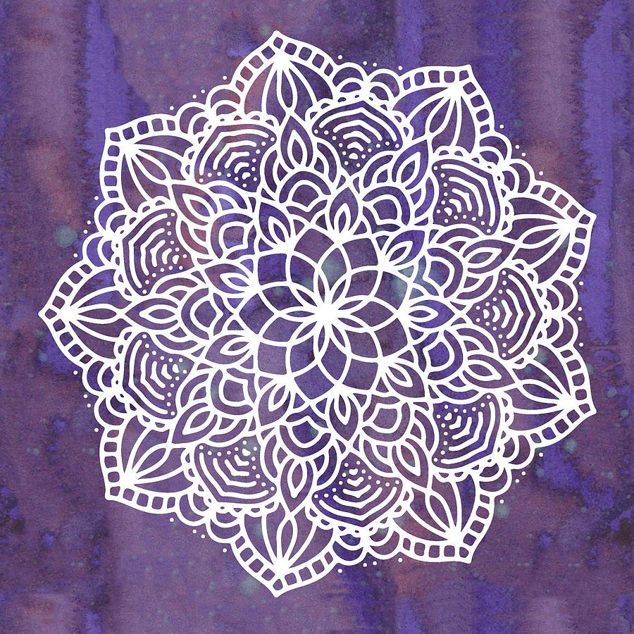 Ultraviolet Mandala by Bee-Bee Deigner