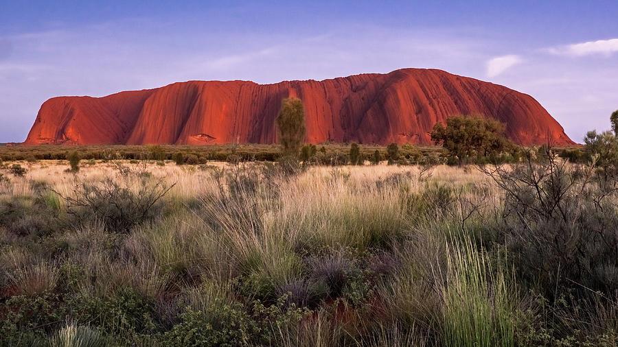 Uluru Sunrise by Walt Sterneman