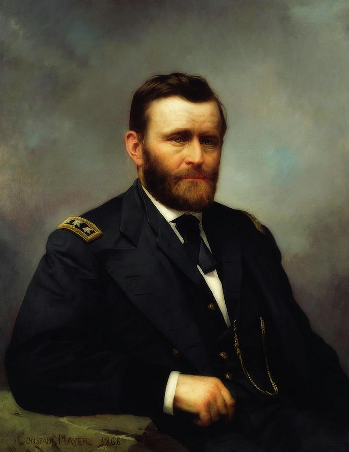 Classical Painting - Ulysses S Grant by Mountain Dreams