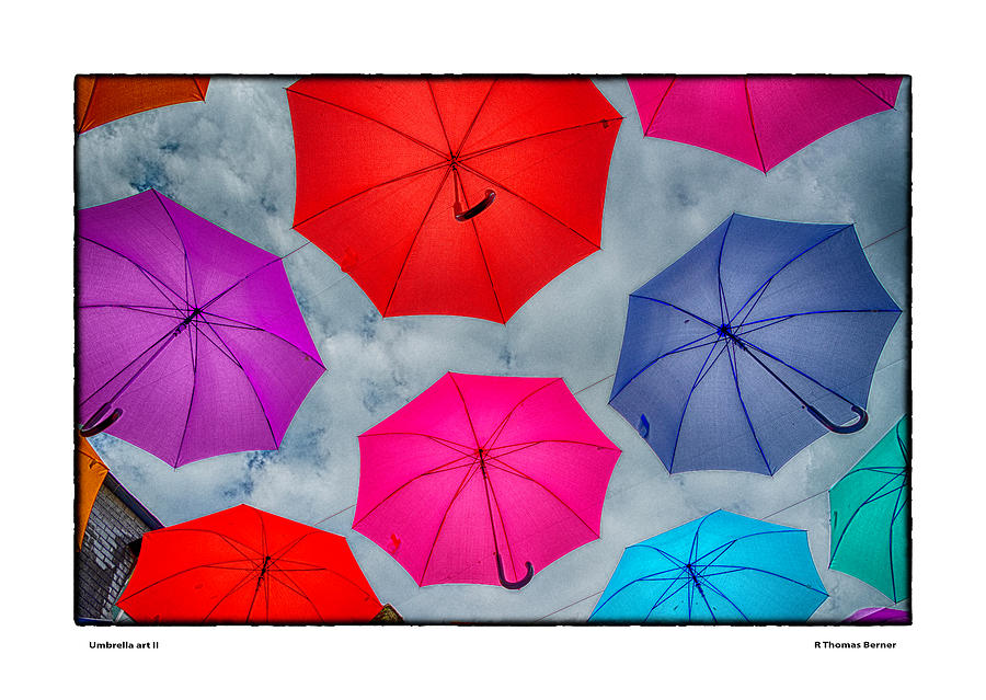 Umbrella Art II by R Thomas Berner