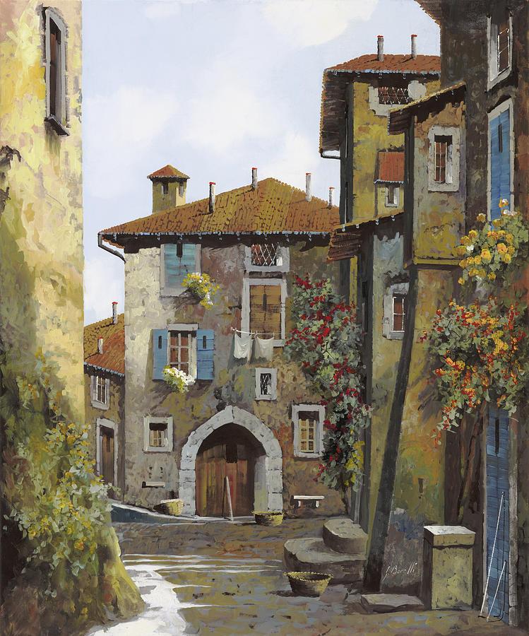 Umbria Painting - Umbria by Guido Borelli