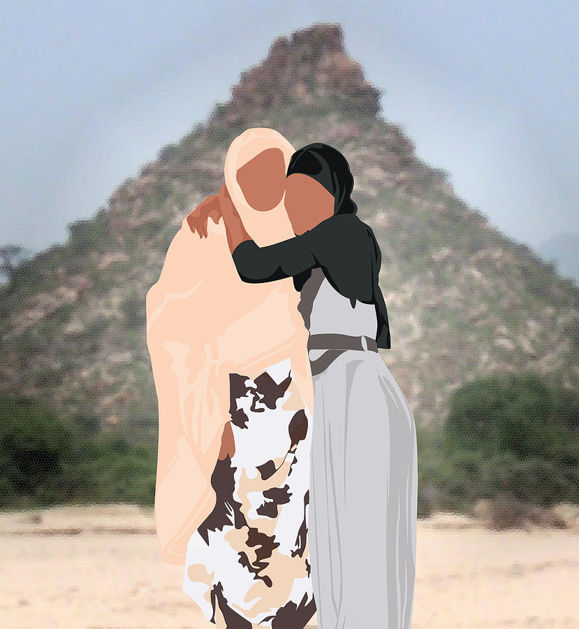 Umi Love In The Mother Land Digital Art by Scheme Of Things
