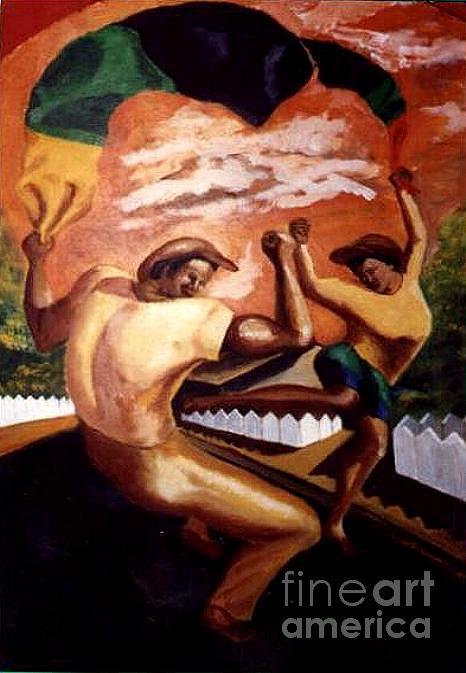 Nelson Mandela Painting - Umkhonto We Sizwe  Amandla by David G Wilson