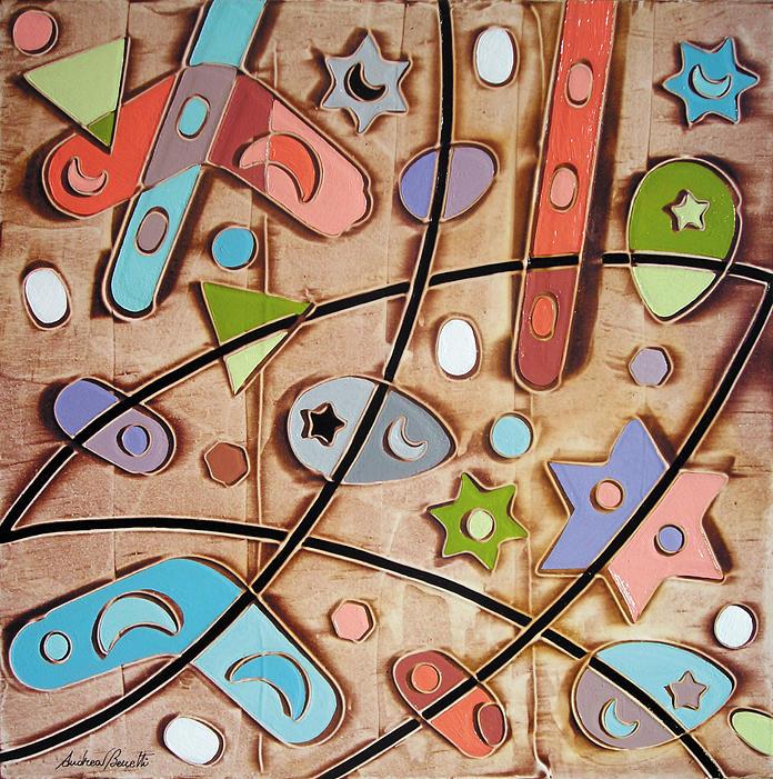 Andrea Benetti Painting - Un Giorno Speciale by Andrea Benetti